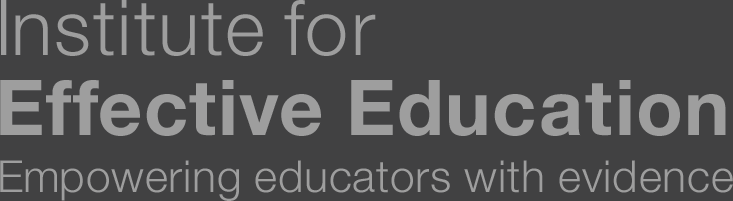 The Institute for Effective Education (IEE)
